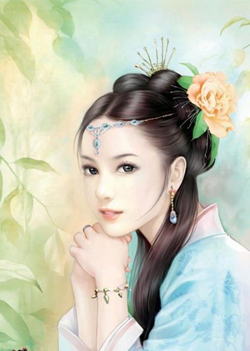 Topic simply asian princess blue