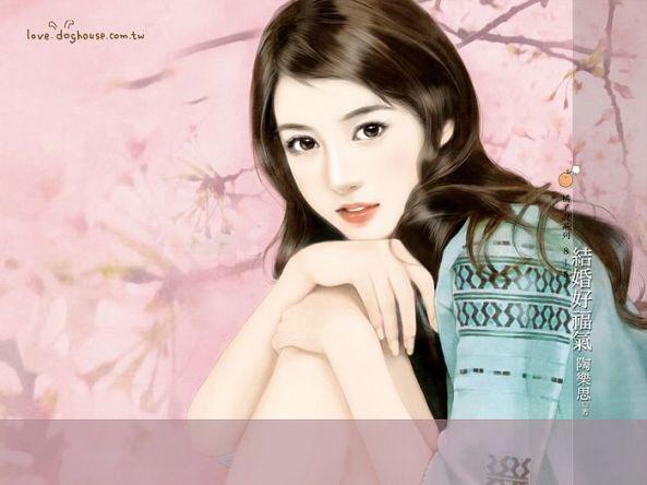 [wallcoo_com]_sweet_girls_illustration_on_romance_novel_cover_bi815